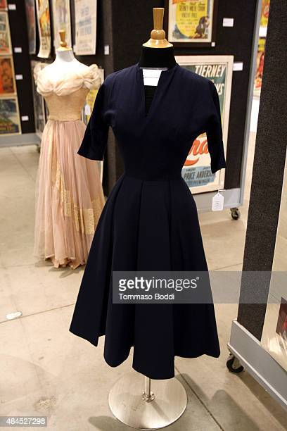 A general view of atmosphere of an Inger Stevens dress from Man on Fire during the Lauren Bacall Collection And Entertainment Memorabilia At Bonhams...