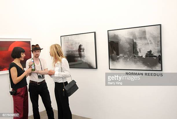 A general view of atmosphere of at 'Hindsight Is 30/40 A Group Photographer Exhibition' at The Salon at Automatic Sweat on November 12 2016 in Los...