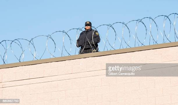 A general view of atmosphere of Chester State Correctional Institution where rapper Meek Mill is being held on November 27 2017 in Chester...