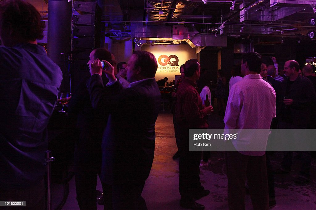 A general view of atmosphere of guests at GQ, Chrysler, And John Varvatos Celebrate The Launch Of The 2013 Chrysler 300C on September 11, 2012 in New York City.