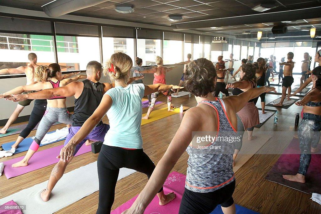 x yoga class