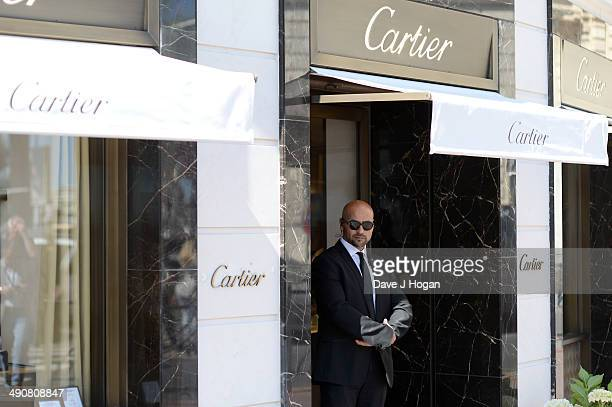 A general view of atmosphere of the Cartier boutique during the 67th Annual Cannes Film Festival on May 15 2014 in Cannes France
