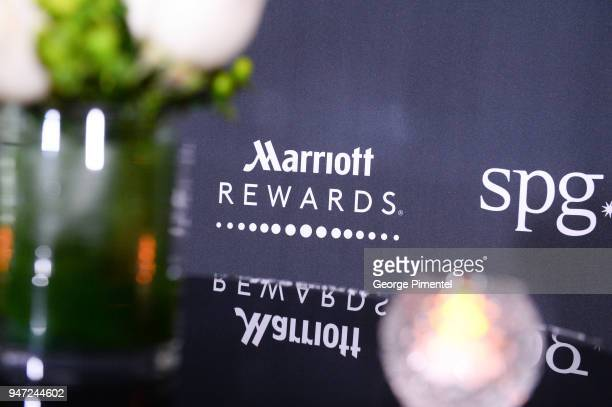 A general view of atmosphere of the celebration of Marriott International's announcement of their Unified Loyalty Program on April 16 2018 in Toronto...