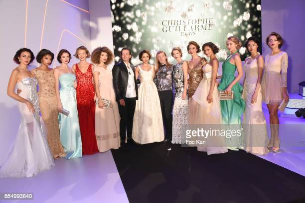 A general view of atmosphere of the Finale with Patricia Contreras Christophe Guillarme miss France 2012 Delphine Wespiser and models during the...