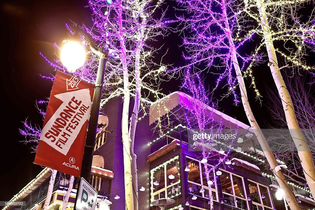 A general view of atmosphere on Night 1 of the Sundance Film Festival on January 17, 2013 in Park City, Utah.