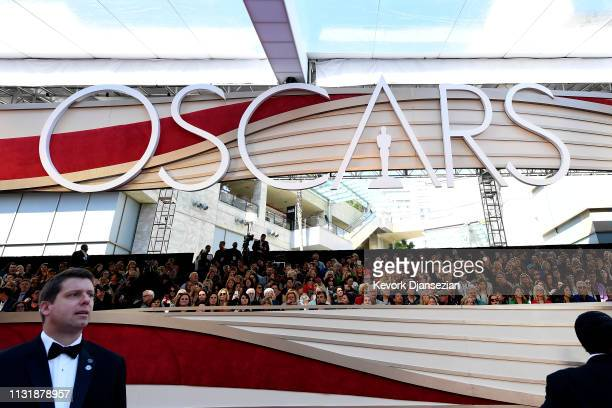 General view of atmosphere on the red carpet at the 91st Annual Academy Awards at Hollywood and Highland on February 24 2019 in Hollywood California