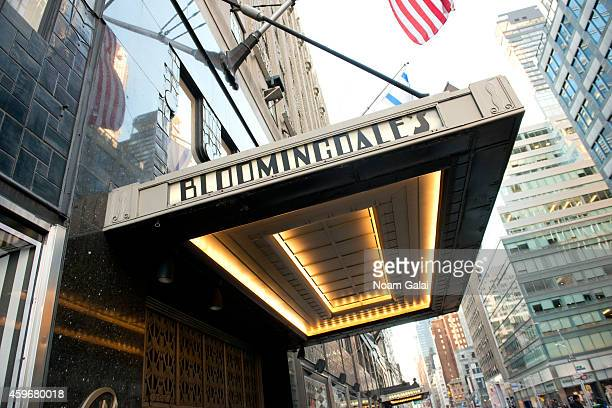 General view of atmosphere outside the Bloomingdale's 59th Street Store on November 28 2014 in New York City