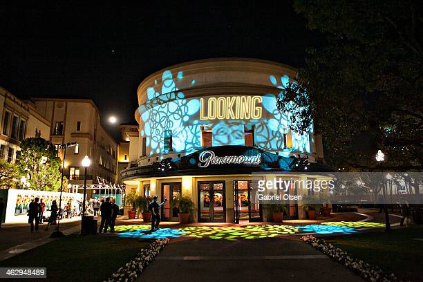 A general view of atmosphere the Premiere Of The HBO Comedy Series' Looking Arrivals on January 15 2014 in Hollywood California
