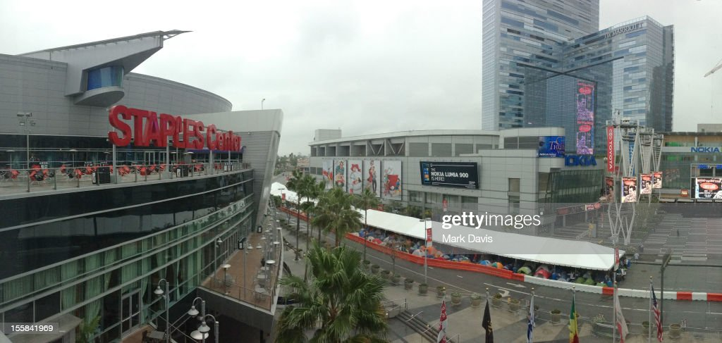 A general view of atmosphere the 'Twilight Saga: Breaking Dawn Part 2' Fan Camp held at L.A. LIVE on November 8, 2012 in Los Angeles, California.
