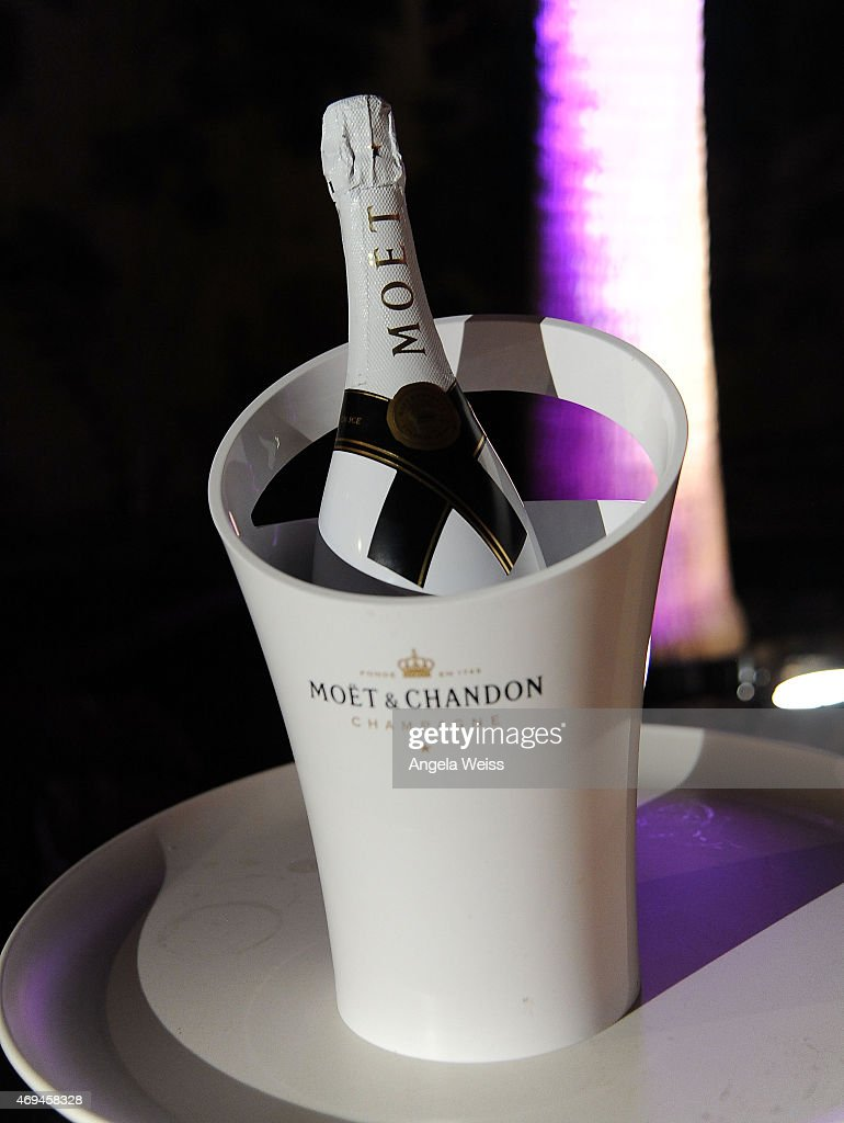 A general view of atmosphere with Moet Ice Imperial at Moschino's Late Night hosted by Jeremy Scott at Coachella 2015 on April 11, 2015 in Bermuda Dunes, California.