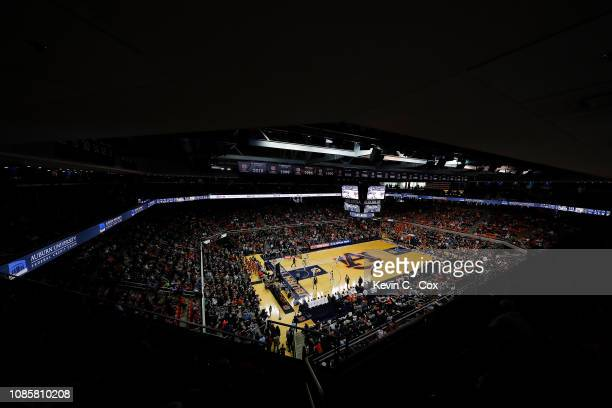 A general view of Auburn Arena during the game between the Auburn Tigers and the Murray State Racers on December 22 2018 in Auburn Alabama