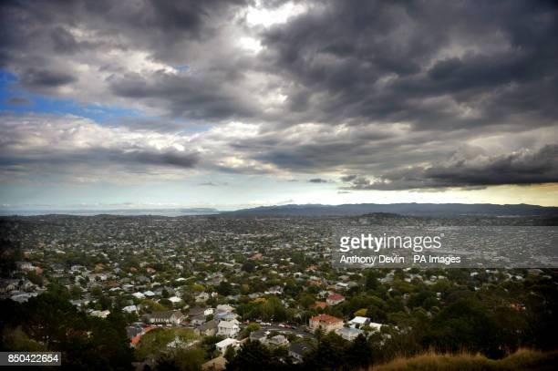 General view of Auckland seen from Mount Eden