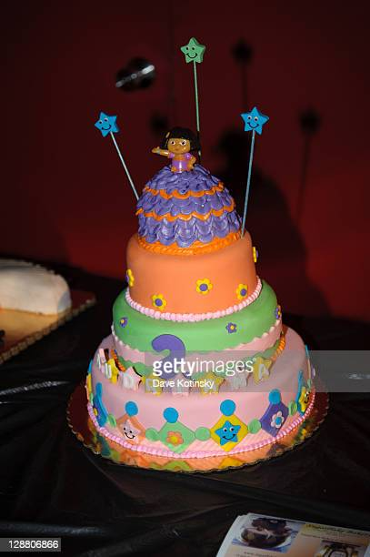 A general view of Audriana and Gabriella Giudices' birthday party at Space Odyssey on October 9 2011 in Englewood New Jersey