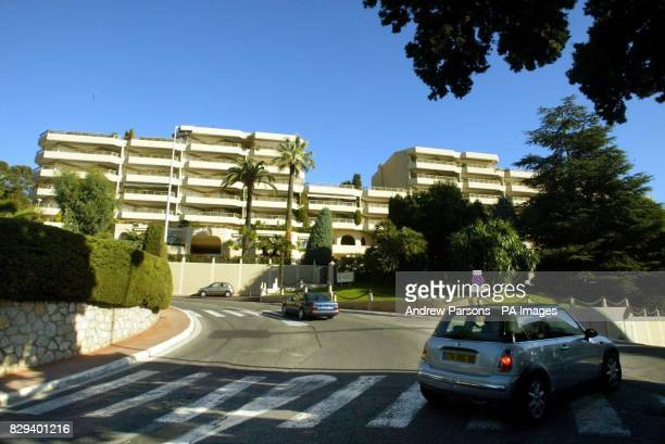 General view of Avenue Marechal Koenig Cannes South of France where it was reported that The Earl of Shaftesbury met his third wife Jamila Ben...