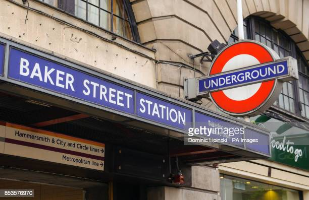 General view of Baker Street Underground Station in central London PRESS ASSOCIATION Photo Picture date Monday June 2 2014 Photo credit should read...