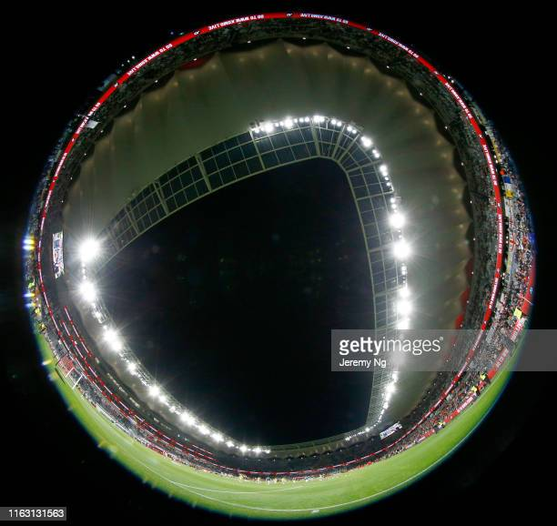 General view of Bankwest Stadium during the match between the Western Sydney Wanderers and Leeds United at Bankwest Stadium on July 20 2019 in Sydney...
