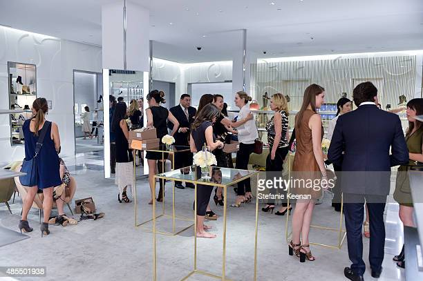 General view of Barneys New York Fetes Shoe Designer Gianvito Rossi at Barneys New York Beverly Hills on August 27 2015 in Beverly Hills California