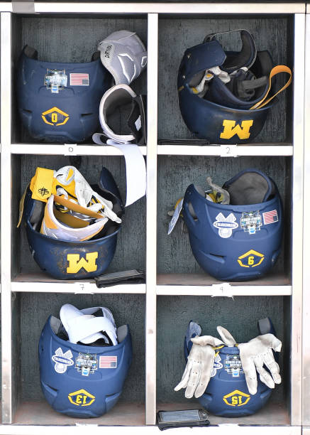 NE: College World Series - Vanderbilt v Michigan - Game Two