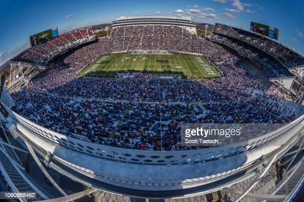 A general view of Beaver Stadium during the game between the Penn State Nittany Lions and the Wisconsin Badgers on November 10 2018 in State College...