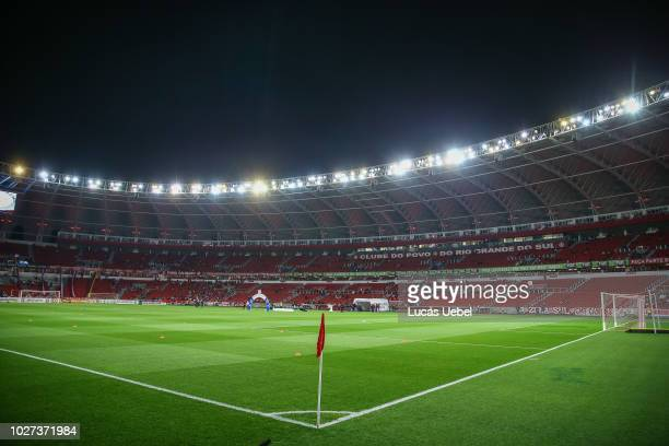 General view of Beira Rio Stadium before the match between Internacional and Flamengo as part of Brasileirao Series A 2018 at BeiraRio Stadium on...