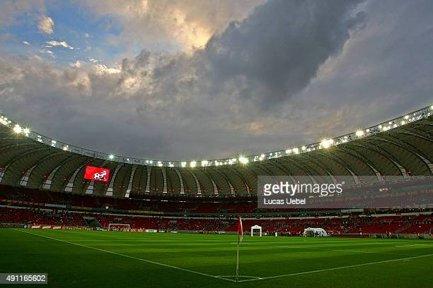 General view of Beira Rio Stadium before the match between Internacional and Sport as part of Brasileirao Series A 2015 at Estadio BeiraRio on...