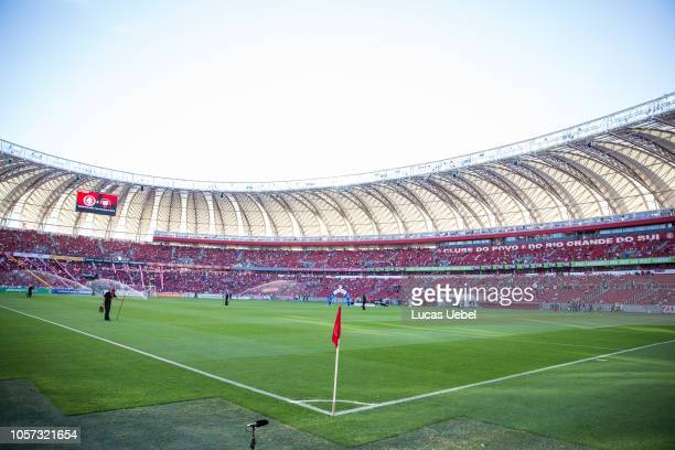 General view of Beira Rio Stadium prior the match between Internacional and Atletico PR as part of Brasileirao Series A 2018 at BeiraRio Stadium on...