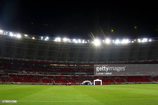 General view of BeiraRio Stadium before match between Internacional and Santos as part of Brasileirao Series A 2015 on June 28 in Porto Alegre Brazil