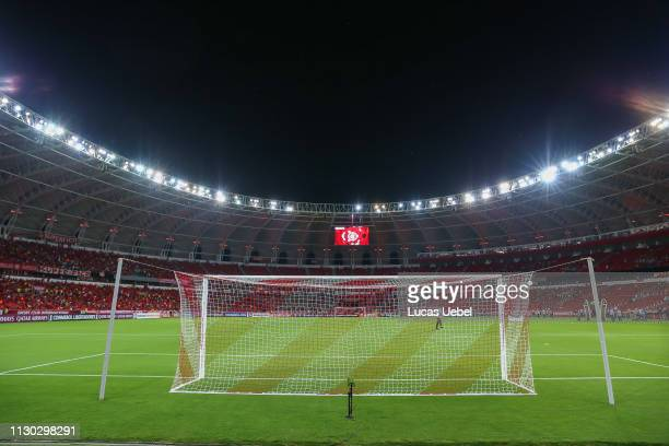 General view of BeiraRio Stadium before the match between Internacional v Alianza Lima Copa CONMEBOL Libertadores 2019 at BeiraRio Stadium on March...