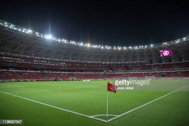 General view of Beira-Rio Stadium before the match between Internacional v Palestino as part of Copa CONMEBOL Libertadores 2019, at Beira-Rio Stadium...
