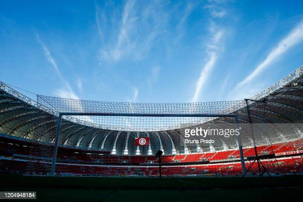 General view of Beira-Rio Stadium prior a Group E match between Internacional and Universidad Catolica as part of Copa CONMEBOL Libertadores 2020 on...