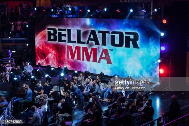 General view of Bellator 230 MMA fighting event at Allianz Cloud on October 12, 2019 in Milan, Italy.