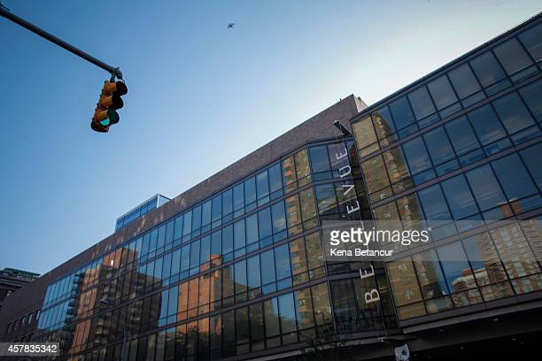 A general View of Bellevue Hospital is seen where Dr Craig Spencer who was diagnosed with the Ebola disease remains in quarantine on October 25 2014...
