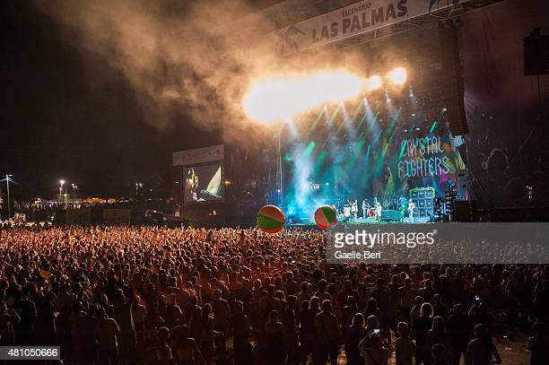 General view of Benicassim Music Festival on July 16 2015 in Benicassim Spain