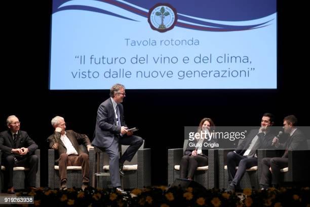 A general view of Benvenuto Brunello 2018 at Teatro degli Astrusi on February 17 2018 in Montalcino Italy