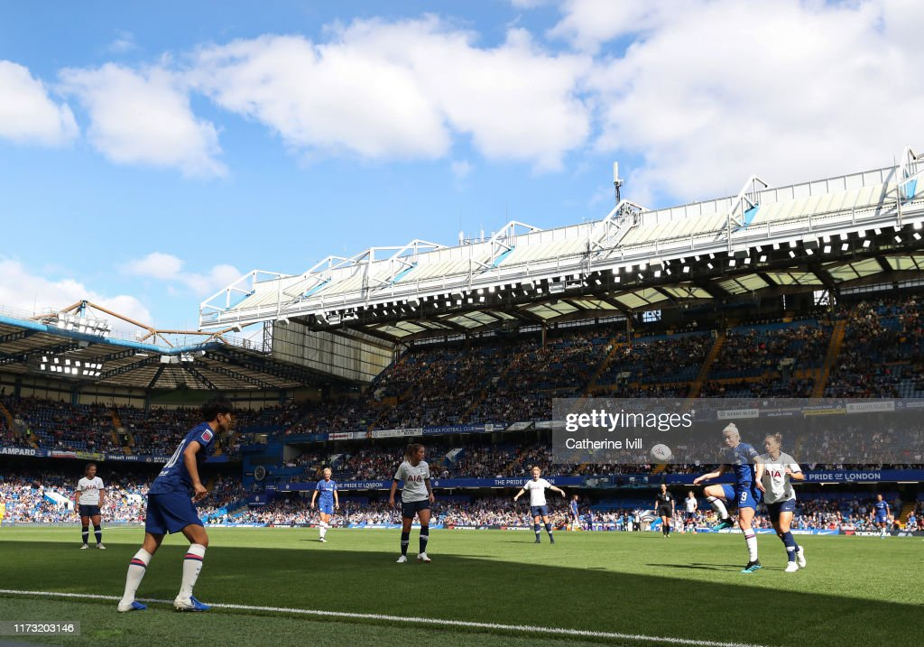 Chelsea v Tottenham Hotspur - Barclays FA Women's Super League : News Photo