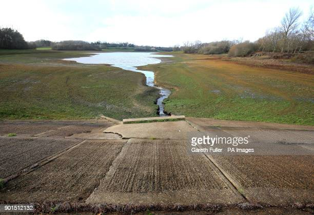 A general view of Bewl Water reservoir near Lamberhurst in Kent as Southern Water applied for a drought permit amid flood alerts and following days...