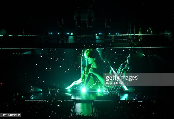 General View of Billie Eilish Where Do We Go World Tour Kick Off Miami at American Airlines Arena on March 09 2020 in Miami Florida