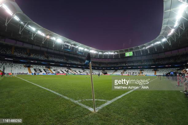 General view of BJK Vodafone Park the home Istanbul football club, Besiktas, formerly known as the BJK Inou Stadium, the host venue of the UEFA Super...