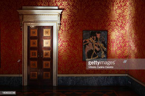 A general view of 'Bob Dylan New Orleans Series' Exhibition at Palazzo Reale on February 4 2013 in Milan Italy