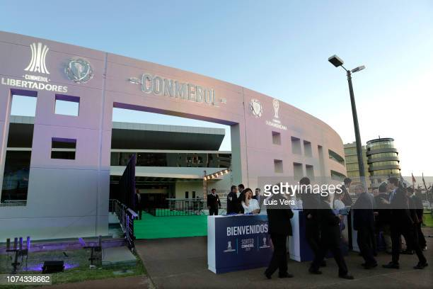General view of Bourbon Hotel prior the draw for the 2019 edition of Copa CONMEBOL Libertadores and Sudamericana at Bourbon Hotel on December 17,...