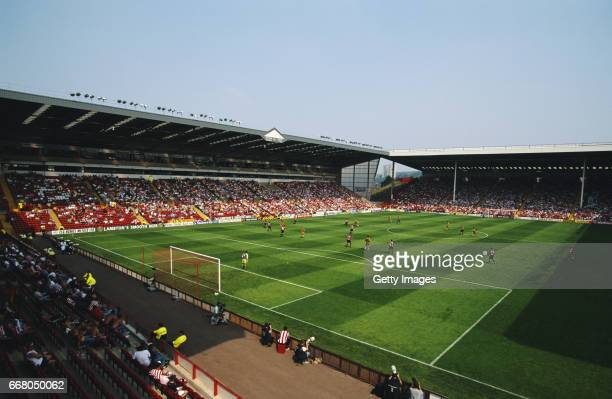 A general view of Bramall Lane during a Nationwide League Division One match between Sheffield United and Sunderland on April 13 1996 in Sheffield...