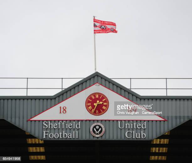 A general view of Bramall Lane home of Sheffield United prior to the Sky Bet League One match between Sheffield United and Charlton Athletic at...