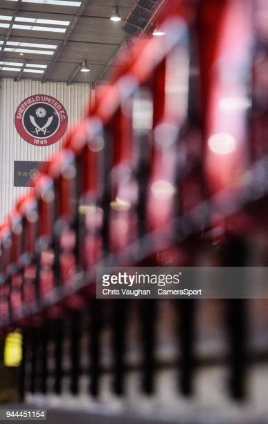 A general view of Bramall Lane home of Sheffield United prior to the Sky Bet Championship match between Sheffield United and Middlesbrough at Bramall...