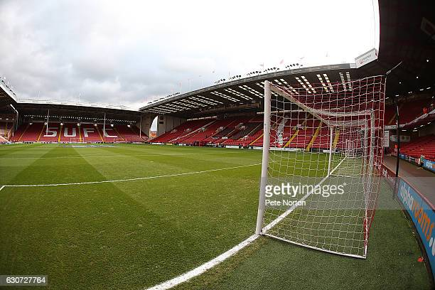 A general view of Bramall Lane prior to the Sky Bet League One match between Sheffield United and Northampton Town at Bramall Lane on December 31...