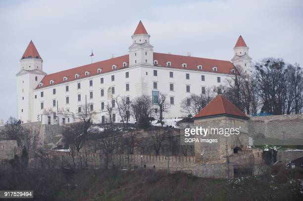 A general view of Bratislava Castle Bratislava is the capital city of Slovakia it has a population of just over 420000 in late 2017