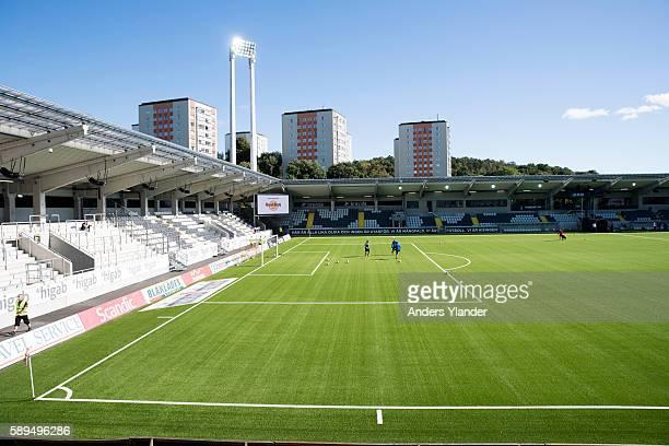 General view of Bravida Arena prior the Allsvenskan match between BK Hacken and Orebro SK at Bravida Arena on August 14 2016 in Gothenburg Sweden