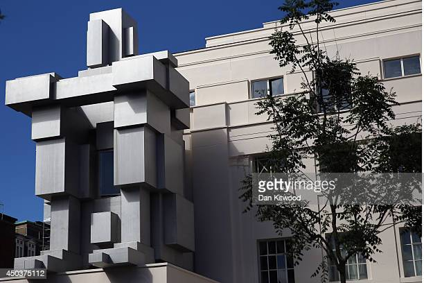 A general view of British Artist Anthony Gormley's new piece of work entitled 'Room' on June 10 2014 in London England Mr Gormleys latest new work...