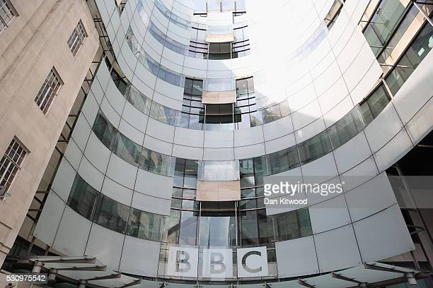 A general view of Broadcasting House the headquarters of the BBC on May 12 2016 in London England A 'white paper' presented this morning by John...