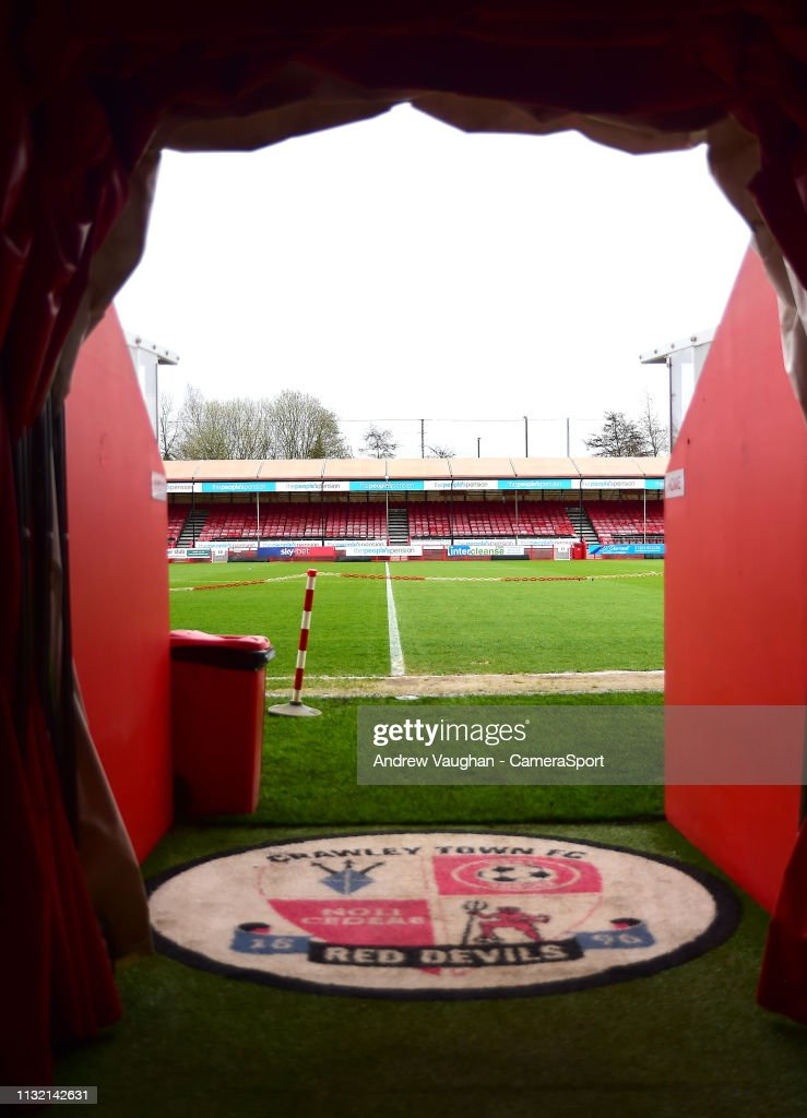 GBR: Crawley Town v Lincoln City - Sky Bet League Two