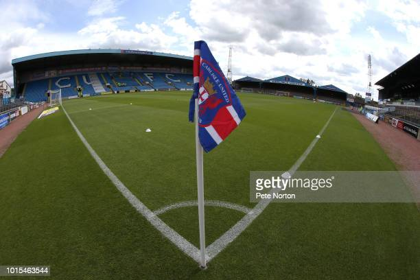 A general view of Brunton Park prior to the Sky Bet League Two match between Carlisle United and Northampton Town at Brunton Park on August 11 2018...